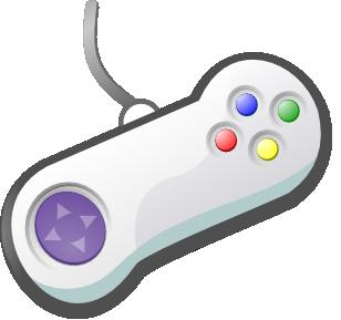 308x289 Console Gamer Clipart