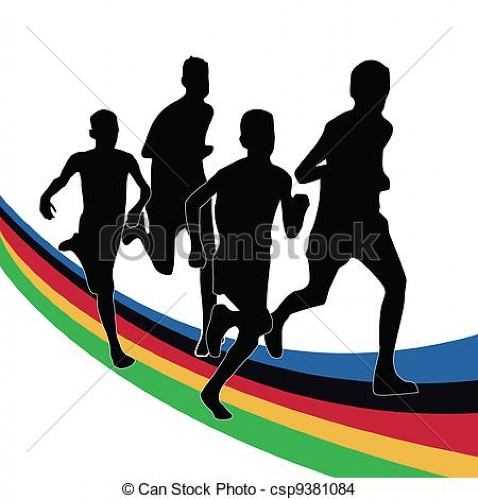 980x1024 Olympic Games Clip Art Free Download Olympic Stock Illustration