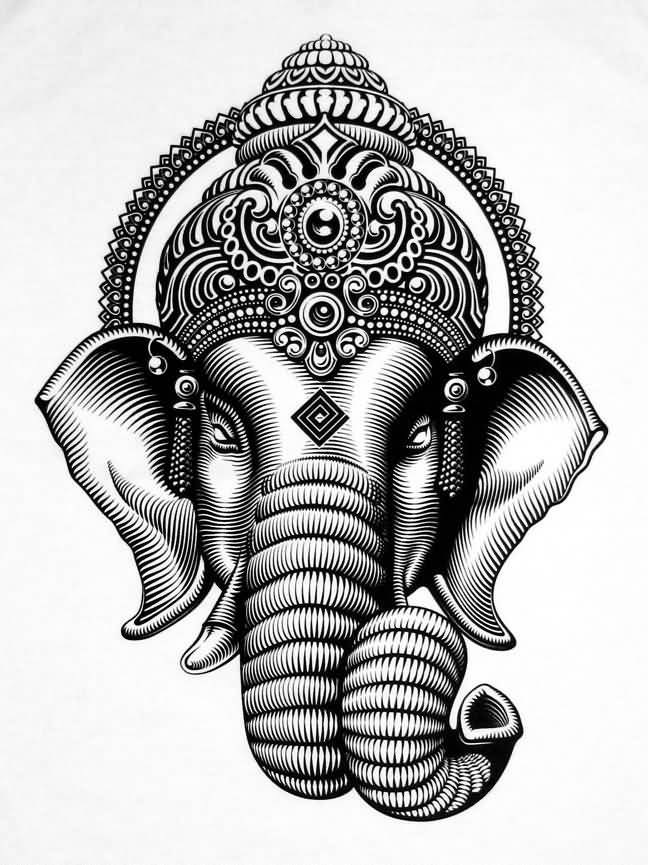 Ganesh Outline