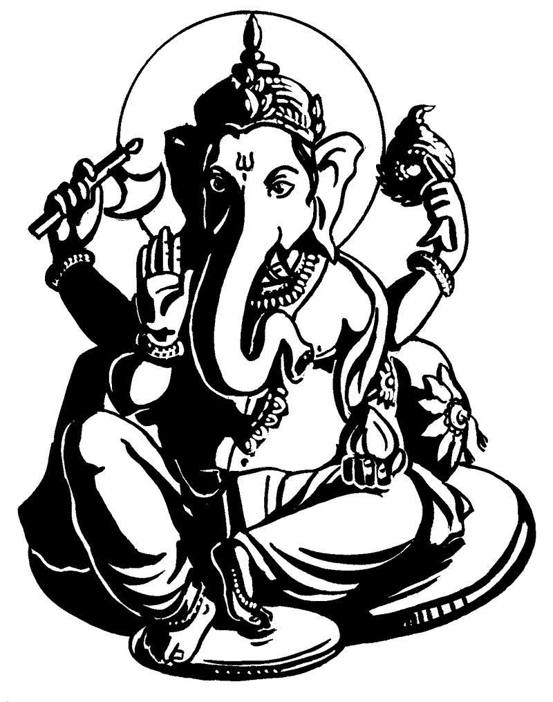 Ganesh Outline Free Download Best Ganesh Outline On Clipartmag Com