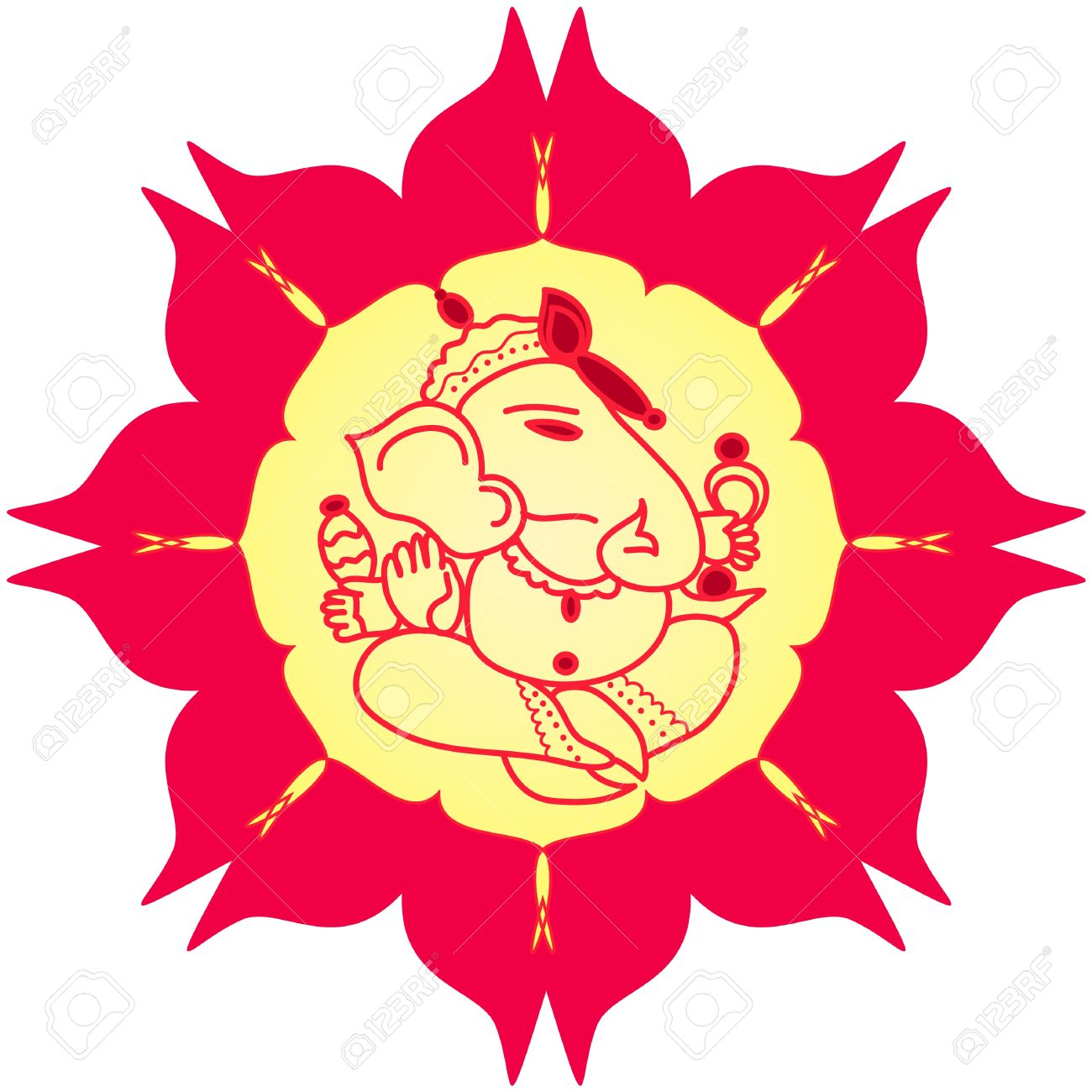 1300x1300 15,136 Hindu God Cliparts, Stock Vector And Royalty Free Hindu God