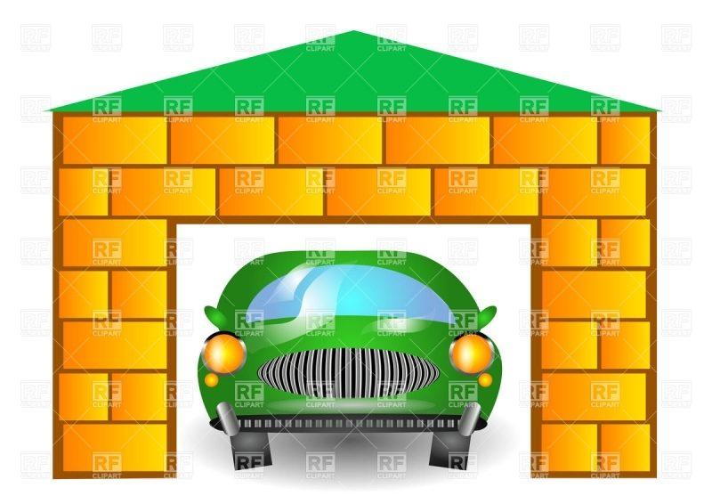 800x566 Exquisite Garage Clip Art Design