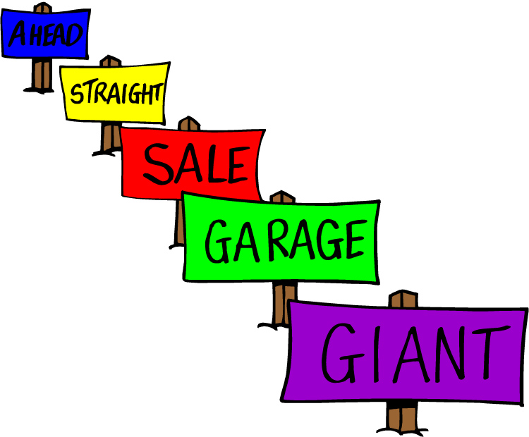 750x620 Free Garage Sale Clip Art