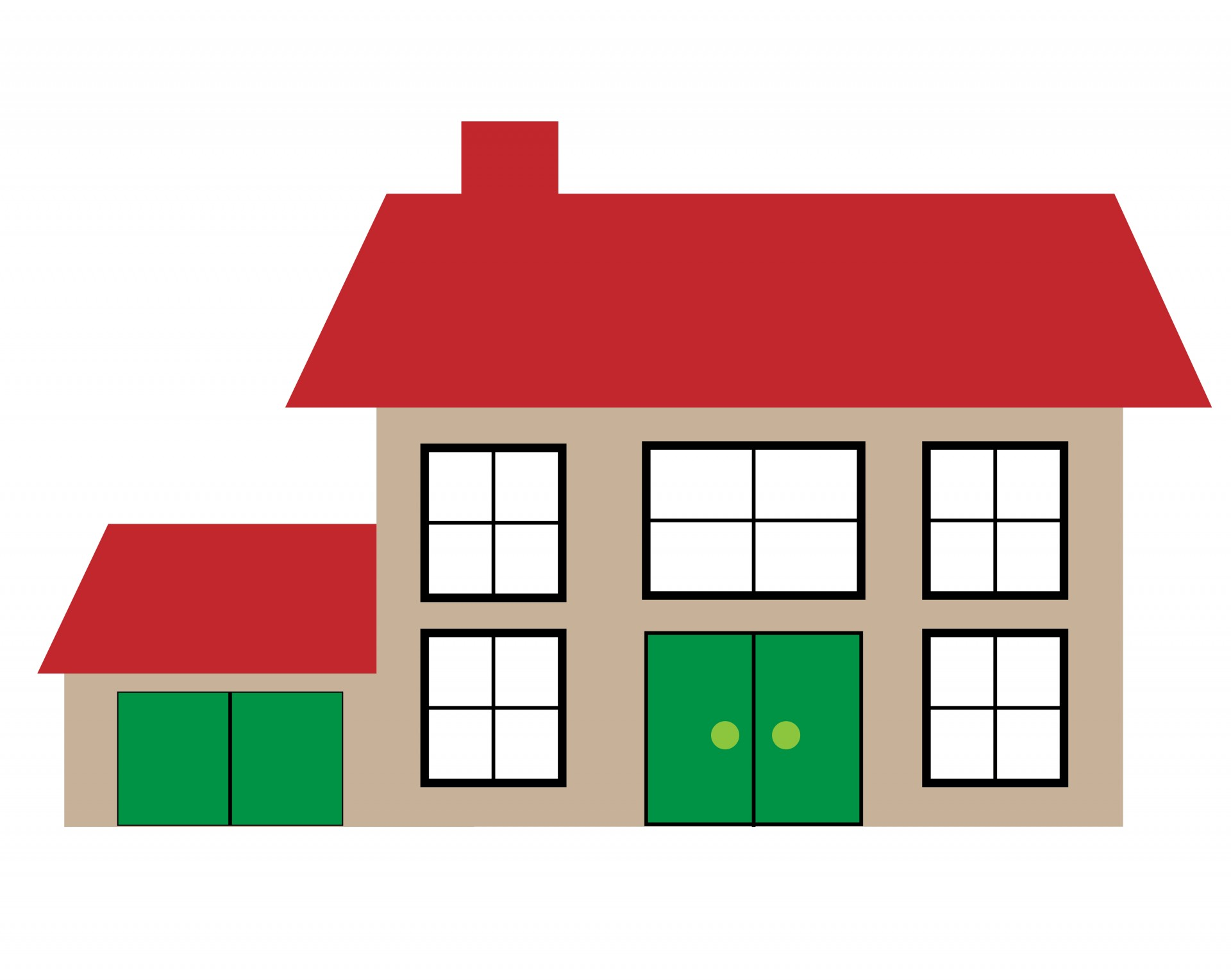 1920x1529 House Illustration Clipart Free Stock Photo