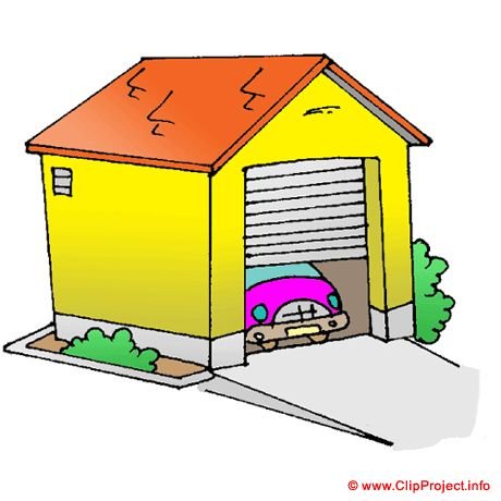 460x460 Garage Clipart Its About A Cat, A Garage, The Family