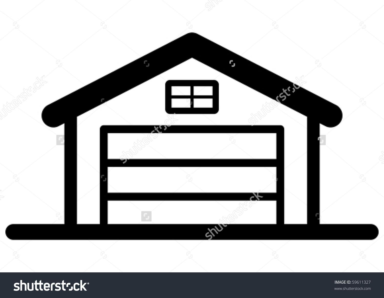 1500x1162 Garage Door Free Cliparts