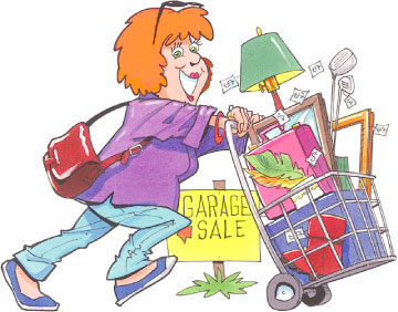 360x282 Garage Sale Parking Lot Sale Clipart