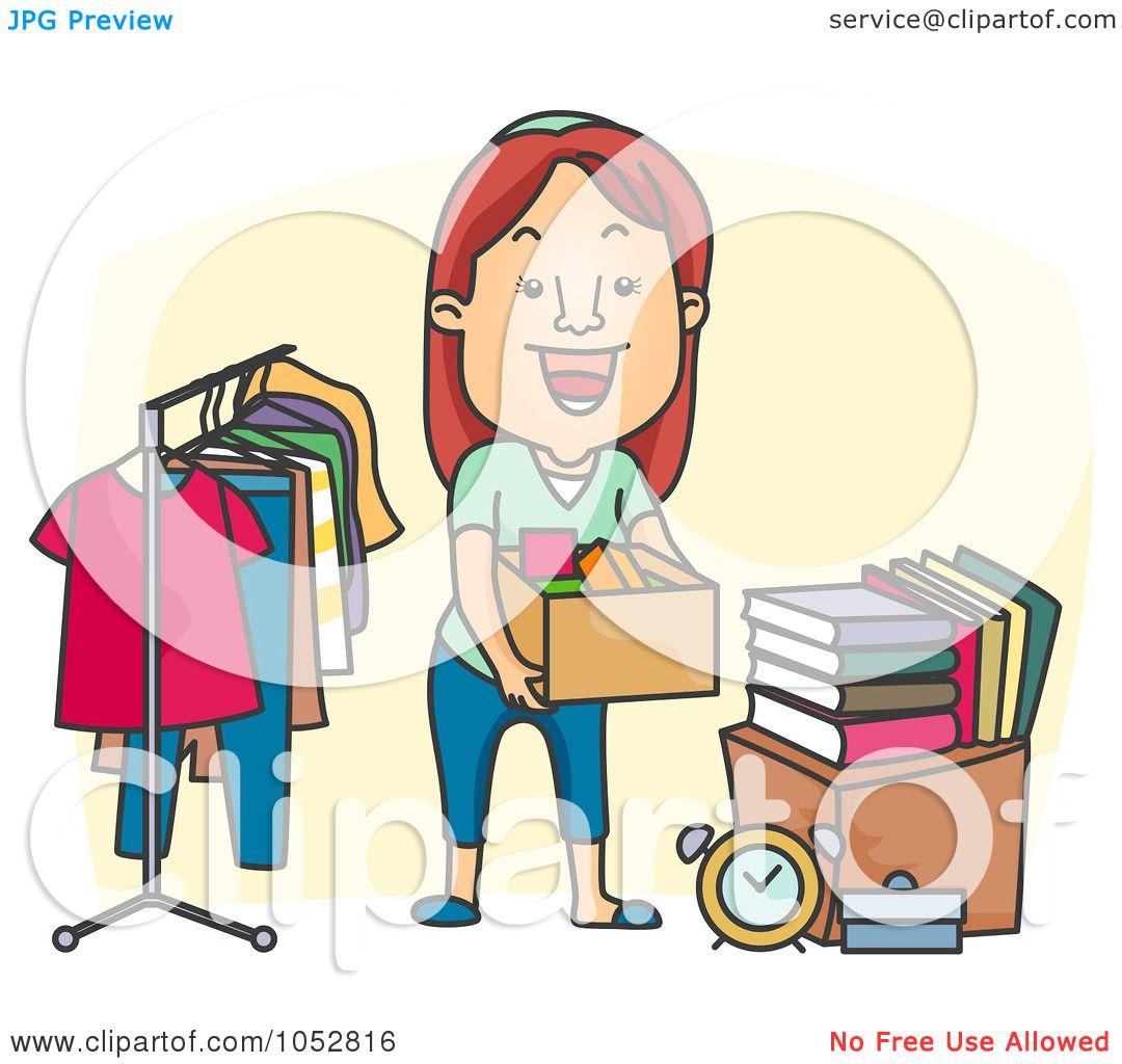 1080x1024 Royalty Free Vector Cliprt Illustration Of Woman Organizing