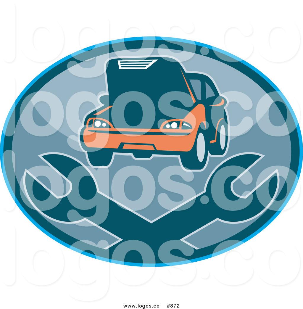 1024x1044 Royalty Free Vector Logo Of A Car Mechanic Garage By Patrimonio