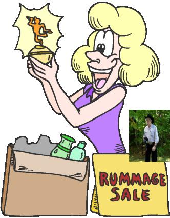 332x425 Rummage Sale Clipart