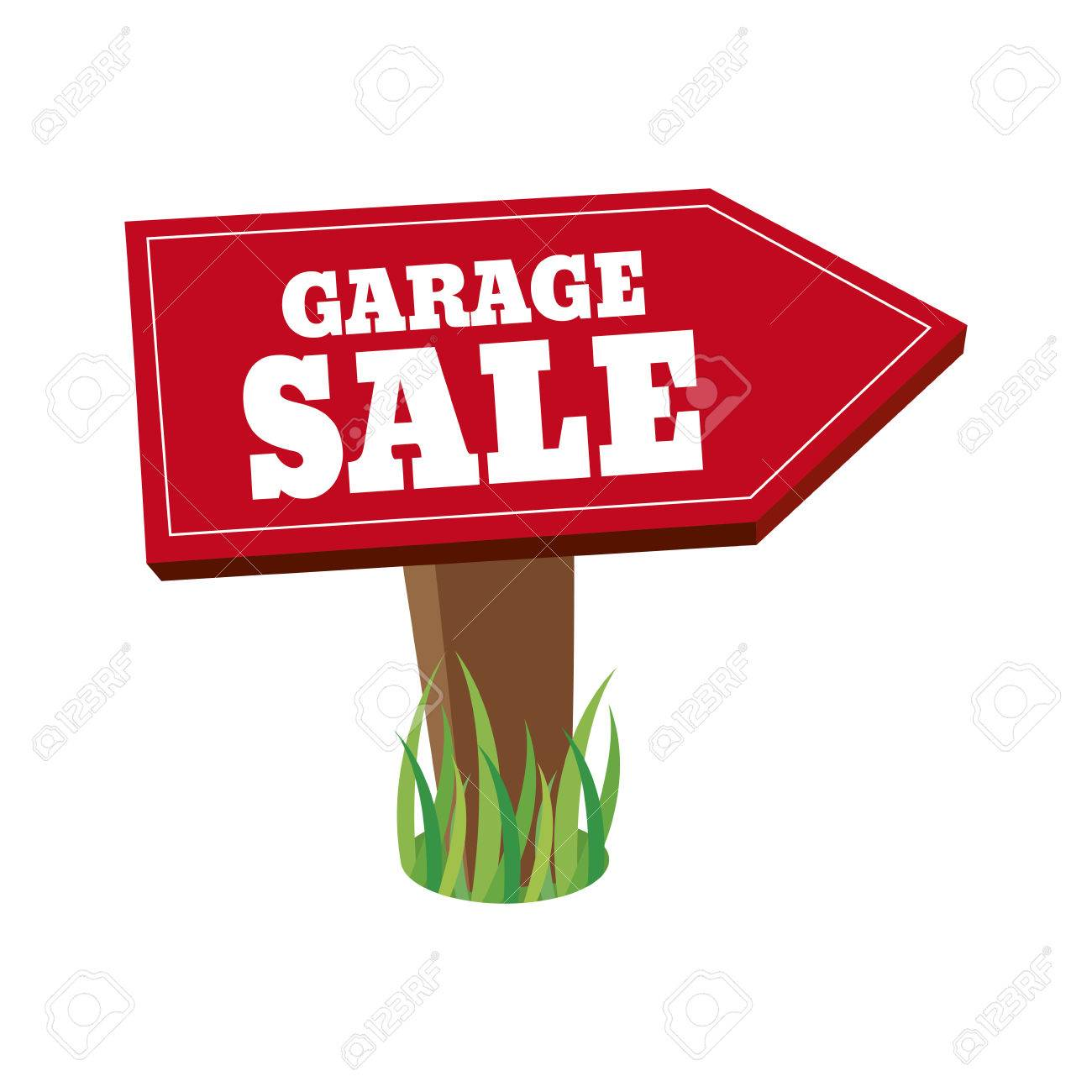 1300x1300 Abstract Garage Sale Object On A White Background Royalty Free