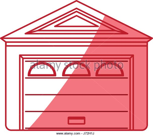 608x540 Inside Clipart Garage Door