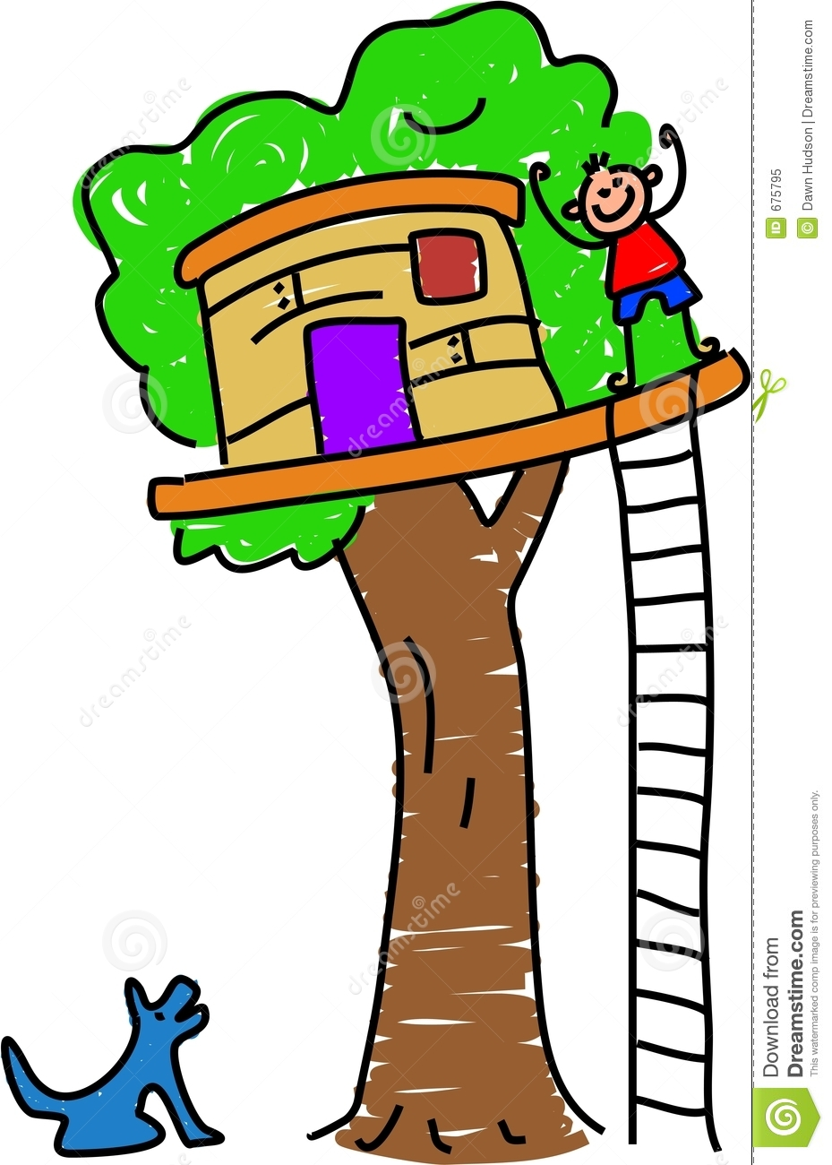 929x1300 Tree Clubhouse Clipart