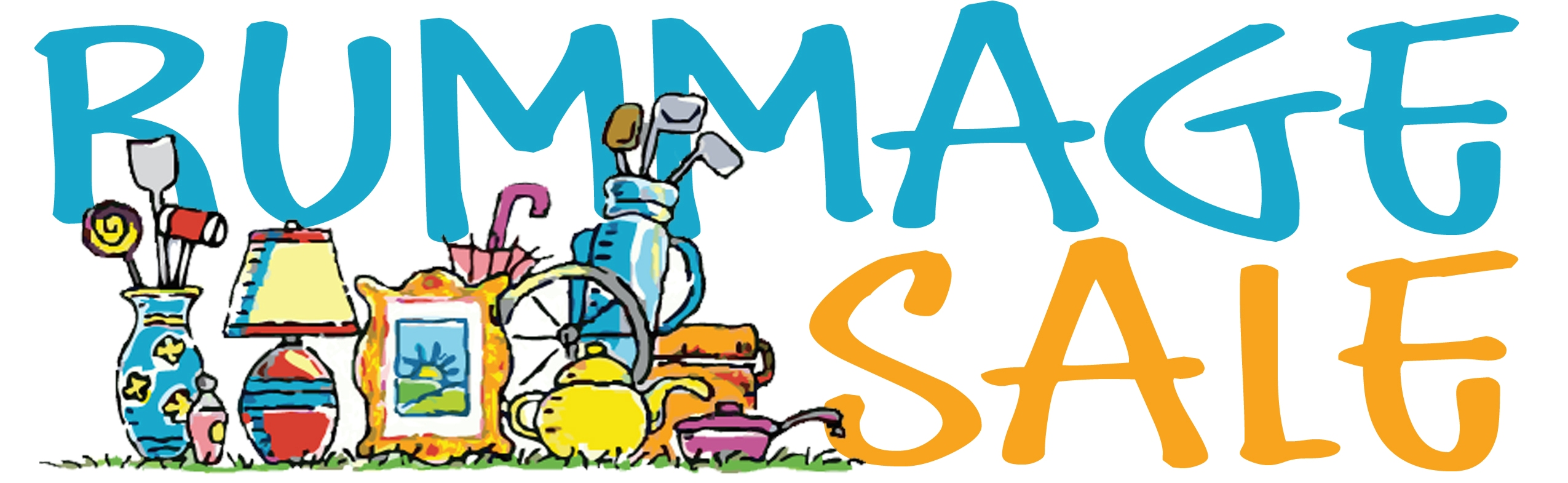 2550x785 Rummage Sale Clip Art Many Interesting Cliparts