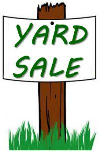 199x300 Garage Sale Clipart