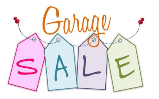 525x326 Garage Sale, April 9th