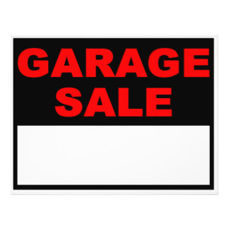 324x324 Rummage Sale Flyer