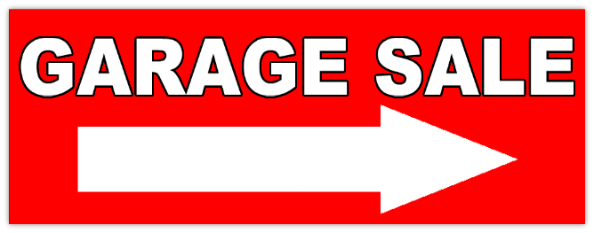 668x263 Garage Sale 106 Garage Sale Sign Templates