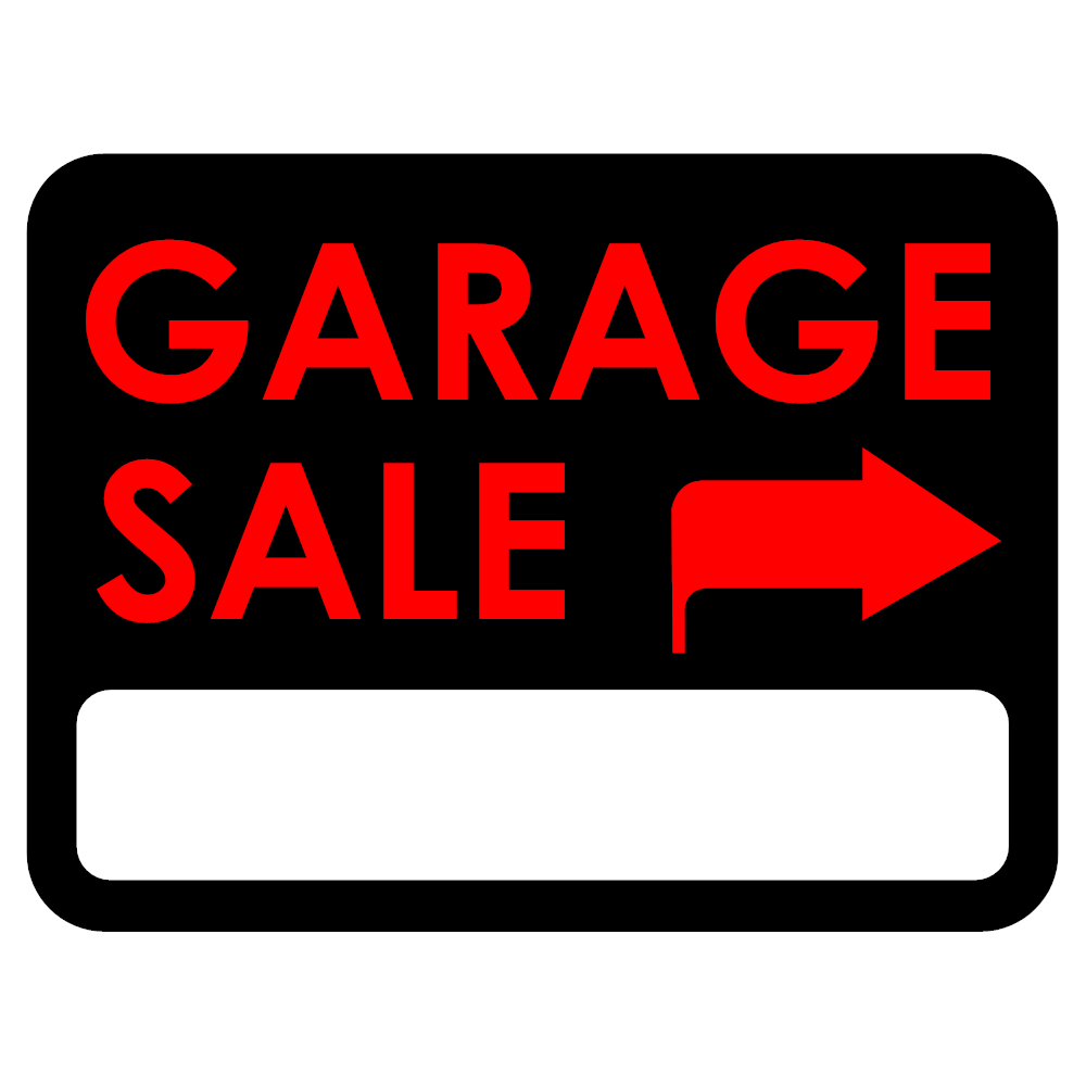 1000x1000 Garage Sale Sign