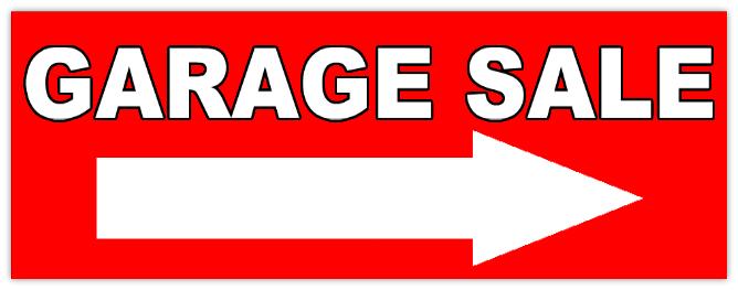 668x263 Garage Sale 106 Garage Sale Sign Templates