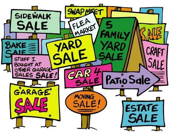 592x470 Warrens Community Garage Sale April 27 29 Warrens, Wisconsin
