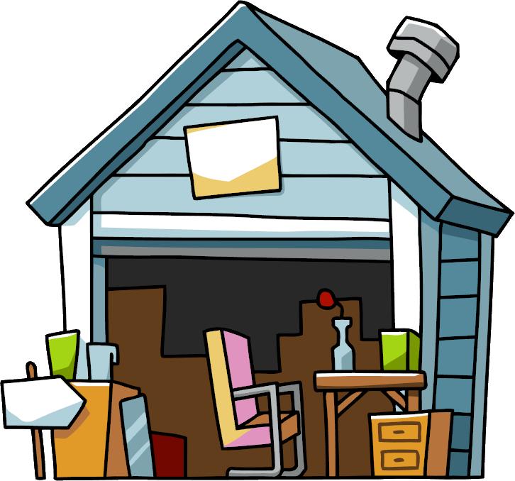 726x678 Garage Sale Scribblenauts Wiki Fandom Powered By Wikia