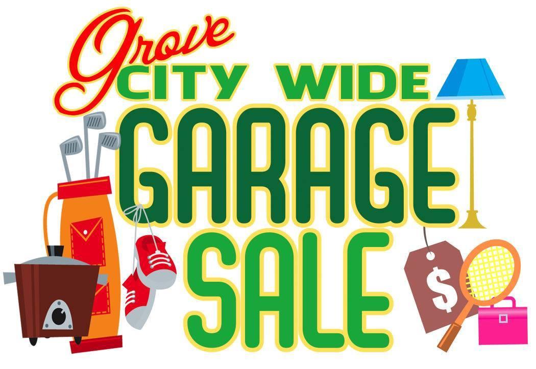 1050x723 Grove City Wide Garage Sale 2017 Grand Lake Living