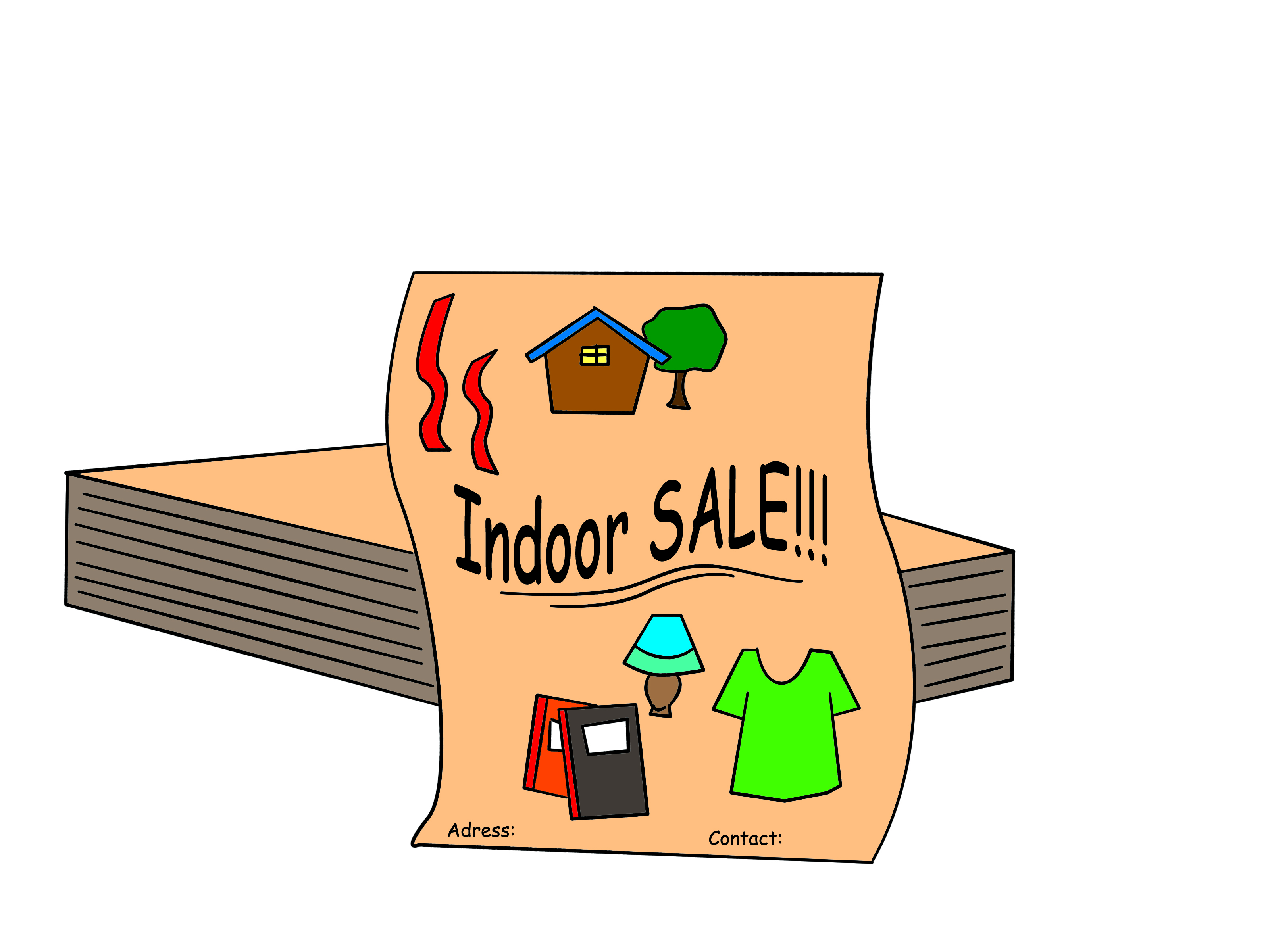 3200x2400 How To Have An Indoor Yard Sale 12 Steps (With Pictures)