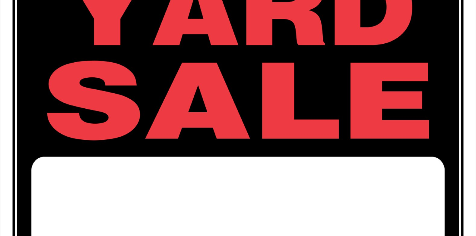 1578x784 Signs Garage Sale Sign Facebook The Huffington Post Local Yard