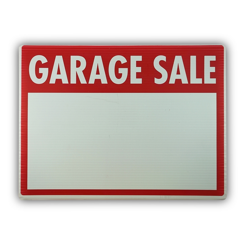 800x800 Sandleford Medium Garage Sale Plastic Sign Bunnings Warehouse