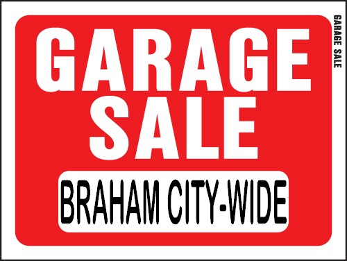 500x376 City Wide Garage Sale Braham Area Chamber Of Commerce