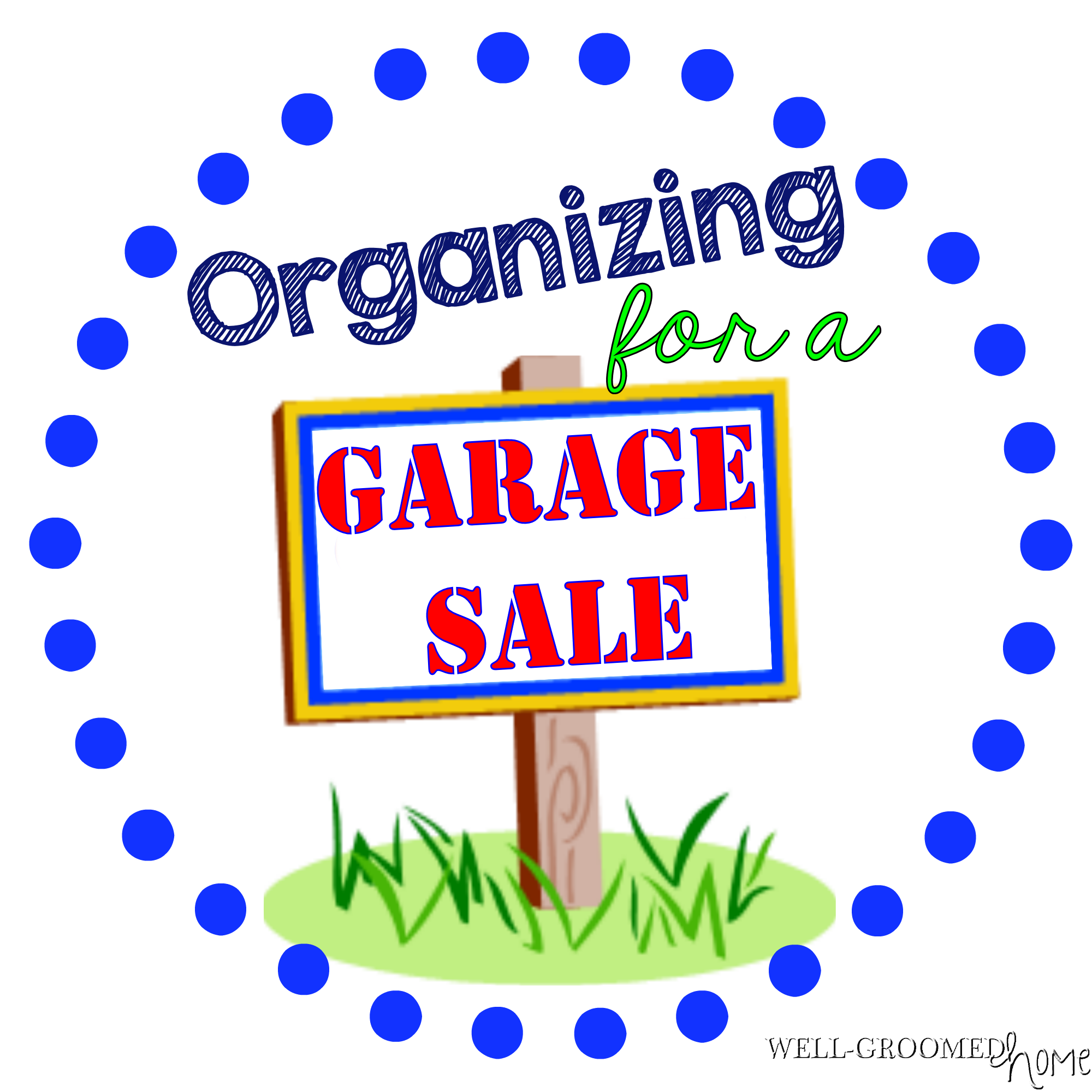 2000x2000 Organizing For A Garage Sale {With A Printable!}