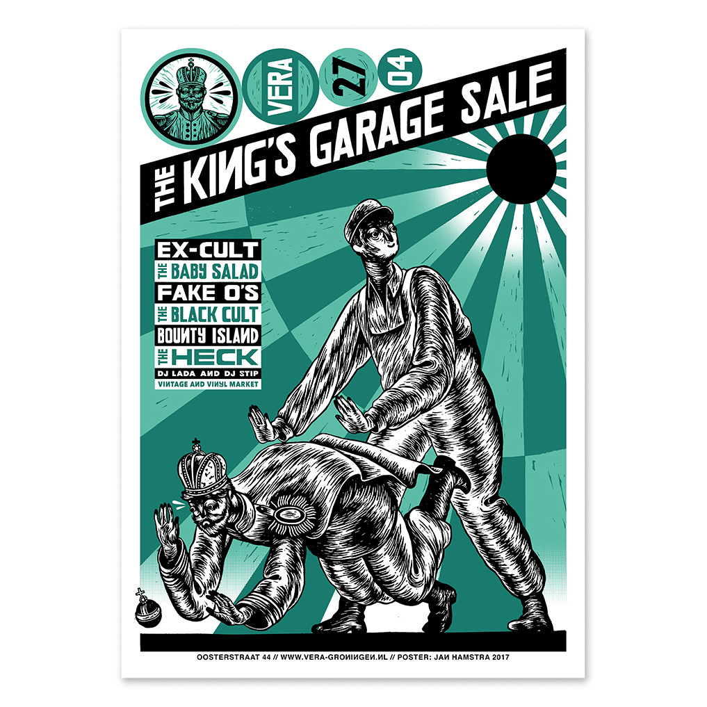 1017x1017 The King's Garage Sale