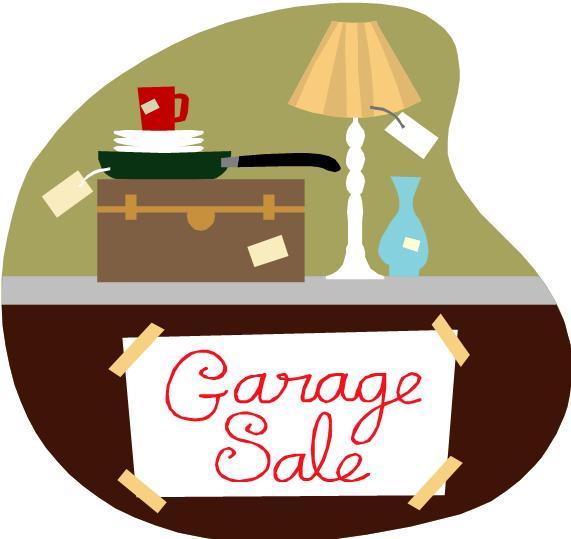 571x539 Garage Sale Clipart