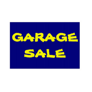 324x324 Garage Sale Advertising Gifts On Zazzle