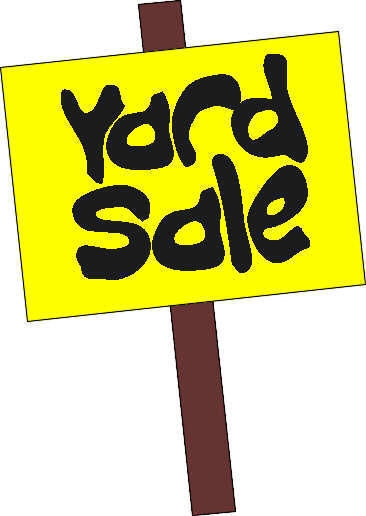 366x516 Garage Sale Sign Clipart