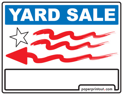 for sale car sign template