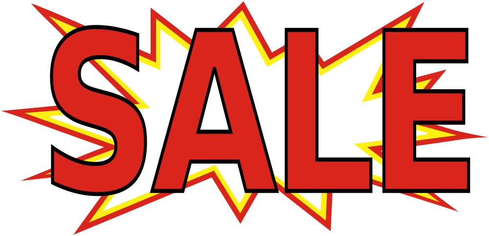 1000x484 Clipart Sale Sign