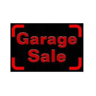 324x324 Garage Sale Sign Yard Amp Lawn Signs Zazzle
