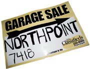 180x138 How To Make Creative Yard Sale Signs That Attract Attention