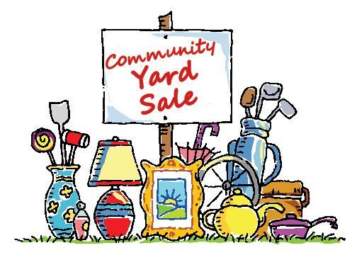 504x360 The Best Community Garage Sale Ideas Yard Sale