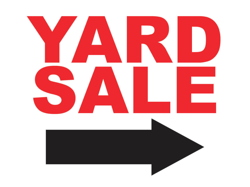 853x640 9 Best Photos Of Printable Garage Sale Arrow Signs