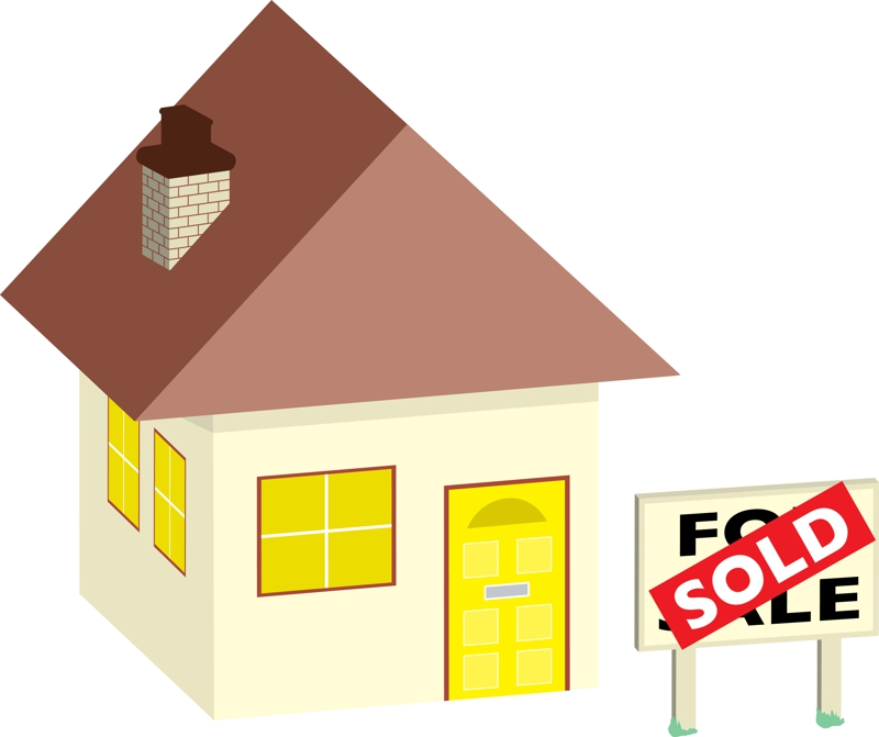 800x671 House For Sale Clip Art