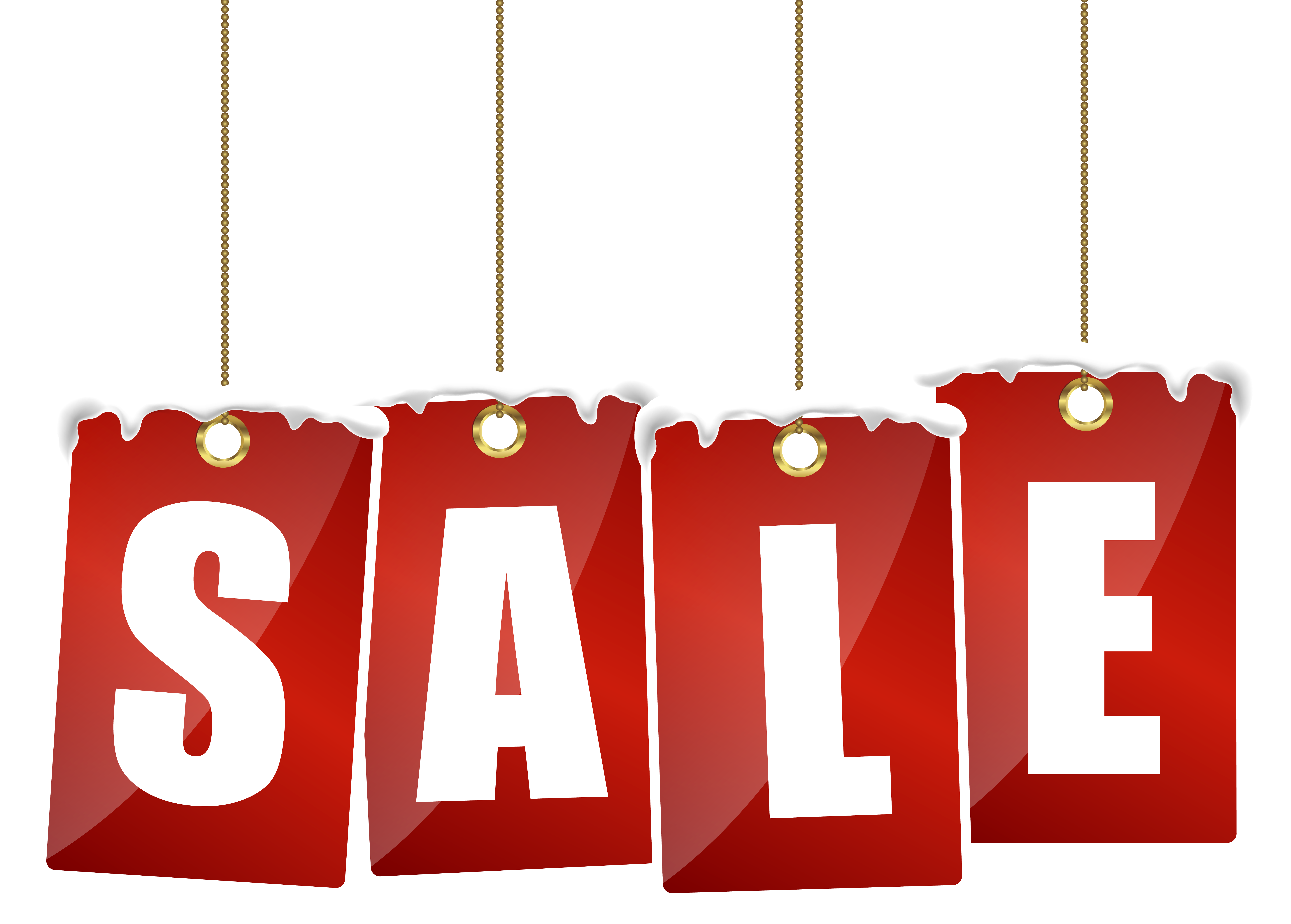 7010x5019 Red Tag Sale Clipart
