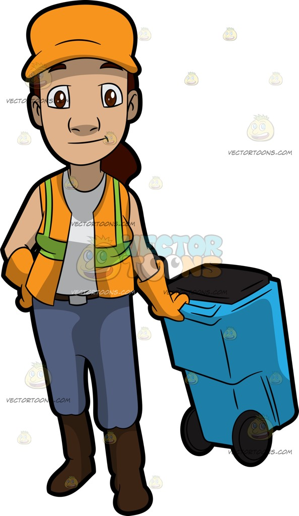 Garbage Collector Clipart | Free download best Garbage ...  Garbage Collect...