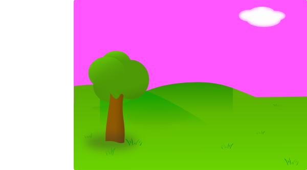 600x334 Countyside Clipart Garden Background