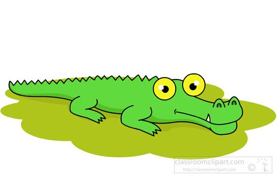 550x355 Garden Alligator Cliparts