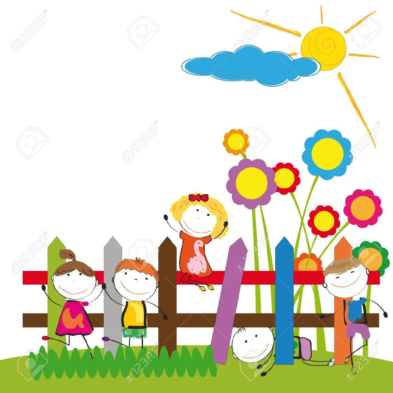1300x1300 Garden Clipart Preschool