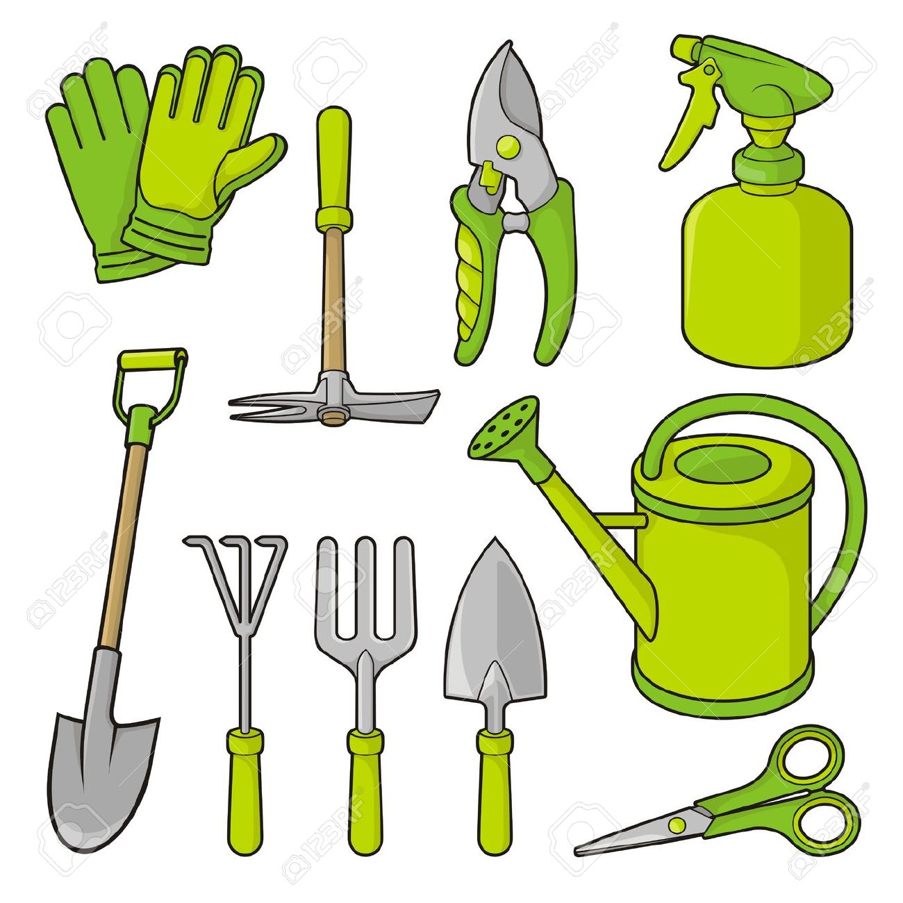 1300x1300 Gardening Tools Clip Art Free You Can Find Out More Details