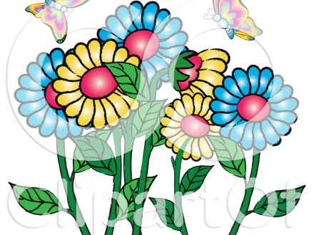 440x330 Pretty Garden Background Free Images At Clkercom Vector Clip Art